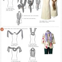 9GAG - How to tie a scarf
