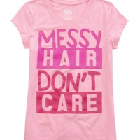 Messy Hair Graphic Tee