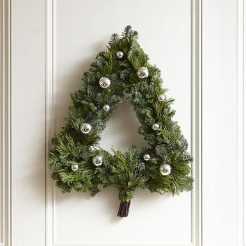 Christmas Tree Wreath