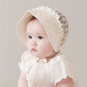 Toddler Girl Infant Baby Newborn Cotton Kids Beanie Headdress Hat Bonnet Cap Sun Caps