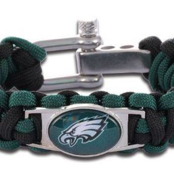 NFL - Philadelphia Eagles Custom Paracord Bracelet