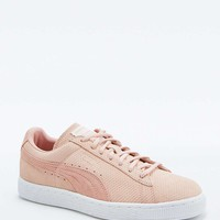 Puma Classic+ Pink Suede Trainers - Urban Outfitters
