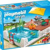 Playmobil 5575 Swimming Pool with Terrace