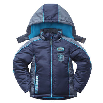 Polyester Children Winter Jackets for Boys Kids Winter Toddler Puffer Coats Warm Padding Baby Clothing 2016 Autumn Outerwear