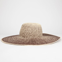 Ombre Straw Womens Floppy Hat | Hats