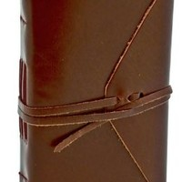 Bombay Brown Leather Journal with Tie 4