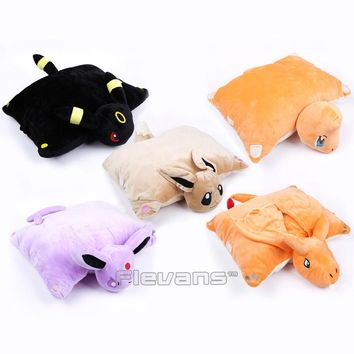 Cute Cartoon Cushion Eevee Espeon Umbreon Charmander Charizard Pillow Soft Stuffed Animal Plush Doll Toys Home & Garden Pillow