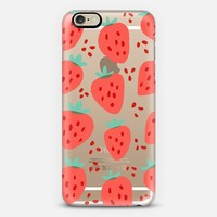 Strawberry Patch iPhone 6 case by Rhianna Wurman | Casetify