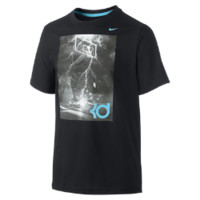 Nike Hero (KD) Boys' T-Shirt Size Small (Black)