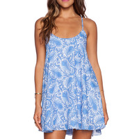 Show Me Your Mumu Bella Dress in Sea Breeze