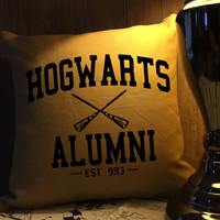 Hogwarts alumni harry potter throw pillow cover
