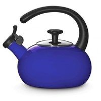 Rachael Ray Teakettles 1-1/2-Quart Whistling, Blue