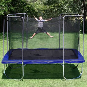Skywalker 15-ft. Square Trampoline and Enclosure Combo - Trampolines at Hayneedle