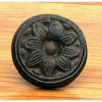 Sunflower Knob Set of 6