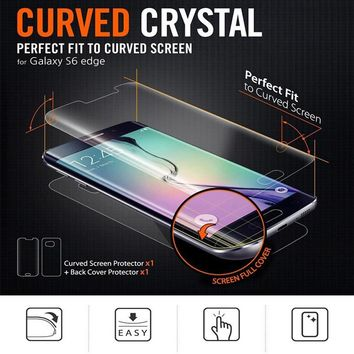 YKSPACE 0.1mm Soft PET Front Back Full Cover Coverage Screen Protector Film For Samsung Galaxy S6 S7 edge S8 S9 Plus Note 8 7 FE
