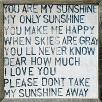 Art Print - You Are My Sunshine