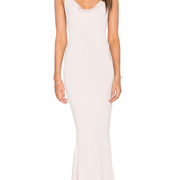Nookie The Hustle Maxi Dress in Nude