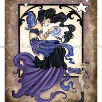 LAST ONE The Fortune Teller Fairy 8.5x11  PRINT by Amy Brown
