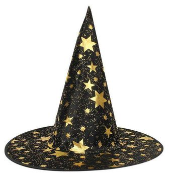 ESBON Halloween Costumes Witch Hat Caps Halloween Party Hat Halloween for Adult Witch Party Decoration Supplies -46