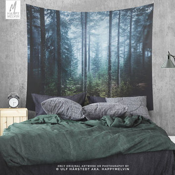 Always Here | Wall Tapestry | Tapestry | Forest Wall Tapestry | Forest Wall Decor | Nature Tapestry | Wanderlust Tapestry | Gift | 3 Sizes