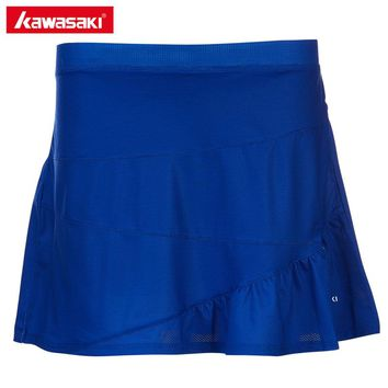 Kawasaki Original Badminton Tennis Skorts Summer Fitness Outdoor Sports Breathable Mini Skirts For Women Ladies SK-T2702