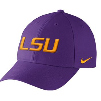 Louisiana State LSU Tigers Nike Dri-Fit Wool Classic Adjustable Hat