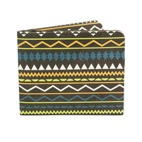 Paper-Thin Wallet Unisex for Men & Women - Aztec Design - Made in Tyvek - Eco-friendly and 100% Recyclable