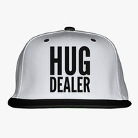 Hug Dealer Embroidered Snapback Hat
