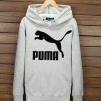 """PUMA"" Fashion Hooded Top Pullover Sweater Sweatshirt Hoodie"