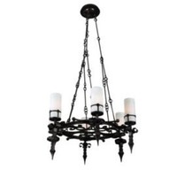 One Kings Lane - Erinn V. Maison - Circular Iron Chandelier