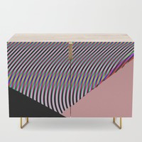 Out Of Focus Credenza by duckyb