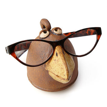 Bird Eyeglasses Holder | fun glasses holder, bird art