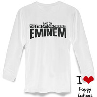 EMINEM! Slim Shady Fan Men and Women's long sleeve on S-3XL heppy feed.