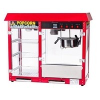 Popcorn Machine 8oz With Merchandiser Commercial 1 Year Warranty