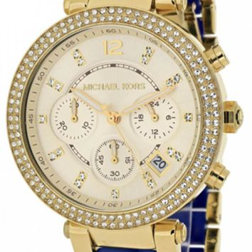 Michael Kors MK6238 Parker Two-tone Tortoise Acetate Women's Watch