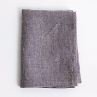 shop fog linen — Linen Chambray Towels: Purple