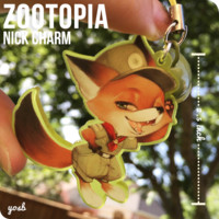 [ZOOTOPIA] Nick Charm by BUY YOSB