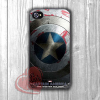 Captain America Winter Soldier shield poster -dta for  iPhone 4/4S/5/5S/5C/6/6+,Samsung S3/S4/S5/S6 Regular/S6 Edge,Samsung Note 3/4