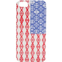 With Love From CA Tribal Print American Flat iPhone 5/5S Case - Womens Scarves - Red - NOSZ