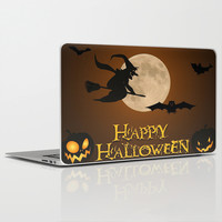 HAPPY HALLOWEEN Laptop & iPad Skin by Acus