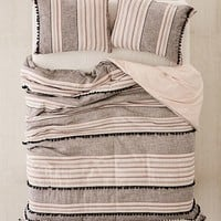 Betty Yarn-Dye Duvet Cover   Urban Outfitters