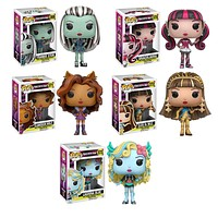 Monster High Pop! Vinyl Figure Set of 5