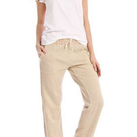 Sweatshirt Knit Lounge Pants in Heather Wheat