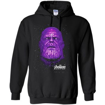 Marvel Avengers Infinity War Purple Thanos Graphic T-Shirt
