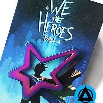 We The Heroes Ball Pin