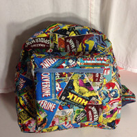 Nerdy Backpack, Marvel Superhero, Star Wars, Captain America, Teenage Mutant Ninja Turtles, Wonder Woman, Batgirl, Supergirl