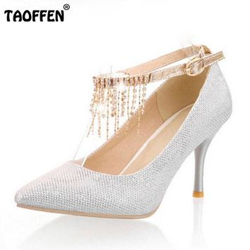 high heel fashion pumps P10908