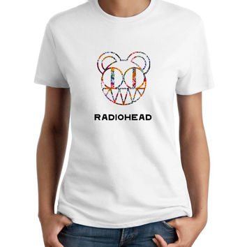 Radiohead Bear Logo Women T-Shirt