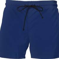 Midnight Blue Color Swim Shorts