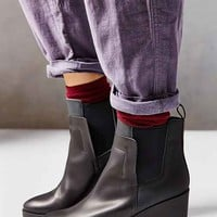 Miista Tania Wedge Boot- Black